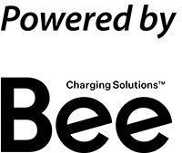 Logotyp Powered by Bee Charge Solutions